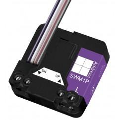 Micromódulo X10 para subida y bajada de persianas y toldos motorizados bidireccional Marmitek. SWM1P-ZAX12