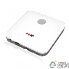 Pasarela IP smart Home gateway POPP con posibilidad de personalización Z-wave