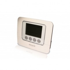 Termostato de pared SECURE con display programable Z-Wave
