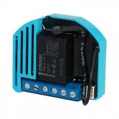 Micromódulo Qubino On-Off simple con contacto seco (1D) 2 entradas y medidas de consumo Z-Wave Plus