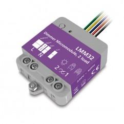 Micromódulo X10 dimmer regulación 2 zonas de iluminación para instalación oculta Marmitek . LMM32