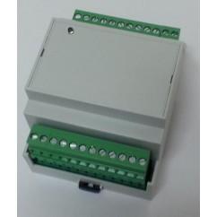 Dispositivo WIFI con 4 relés de salida y 4 entradas de alarma. W44