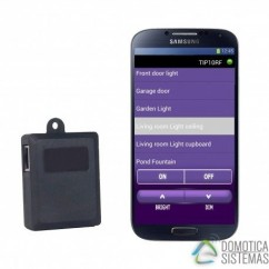 Pasarela IP TIP10RF Marmitek para control remoto desde Smartphone de módulos X10.TIP10RF
