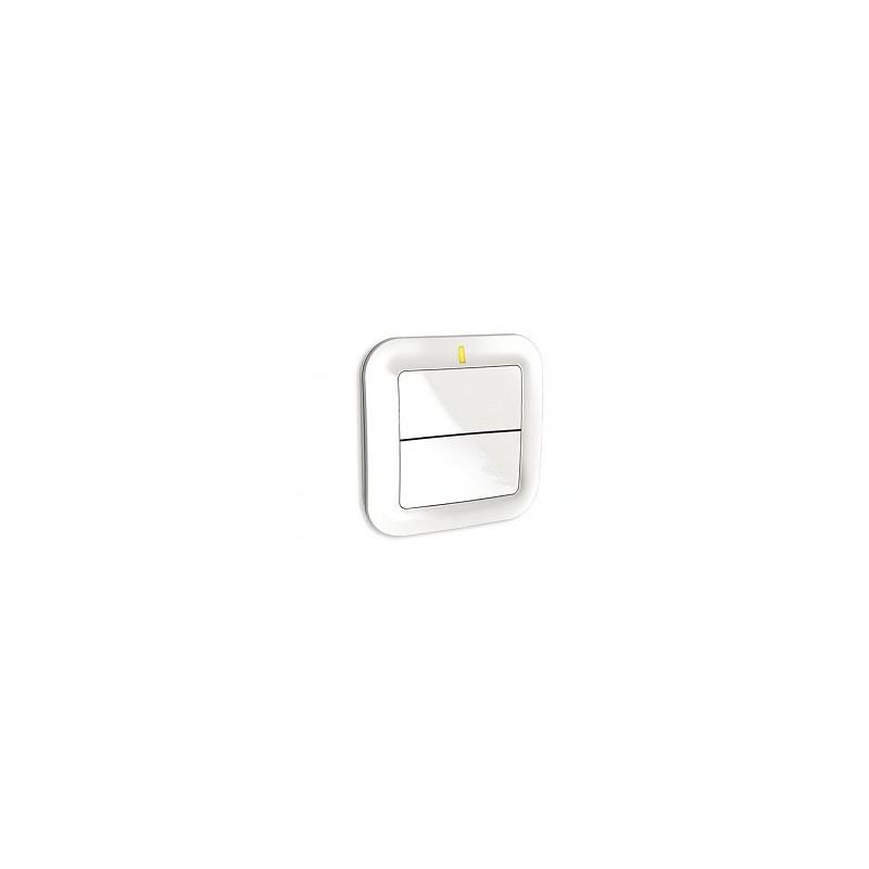 Interruptor emisor Delta Dore para iluminación, regulación, automatismos, escenarios. TYXIA 2310