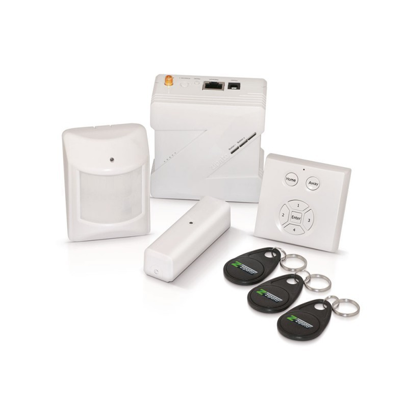pack de inicio de seguridad zipato smart alarm. Black Bedroom Furniture Sets. Home Design Ideas