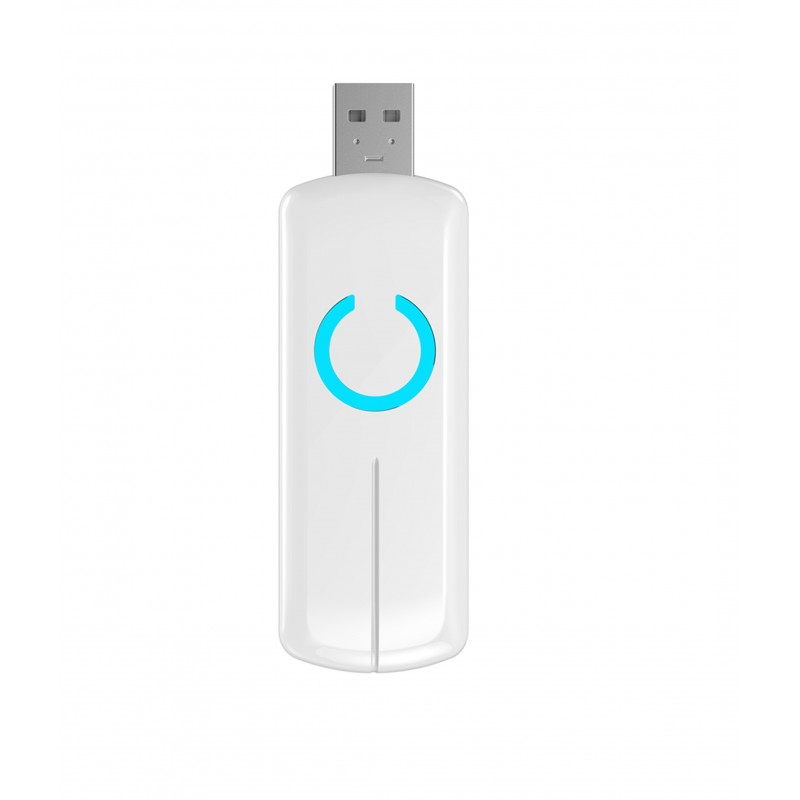 Adaptador USB con bateria Z-Wave Plus. Z-Stick Gen5