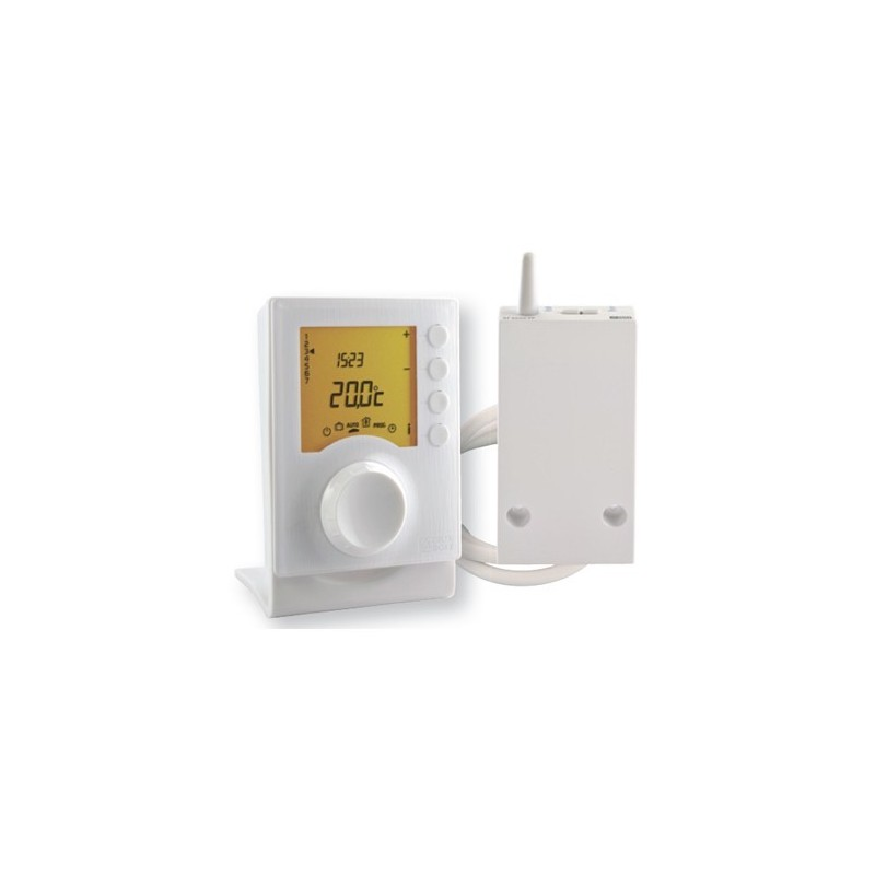 Termostato programable inalámbrico para calefacción 6 consignas Delta Dore. TYBOX 237