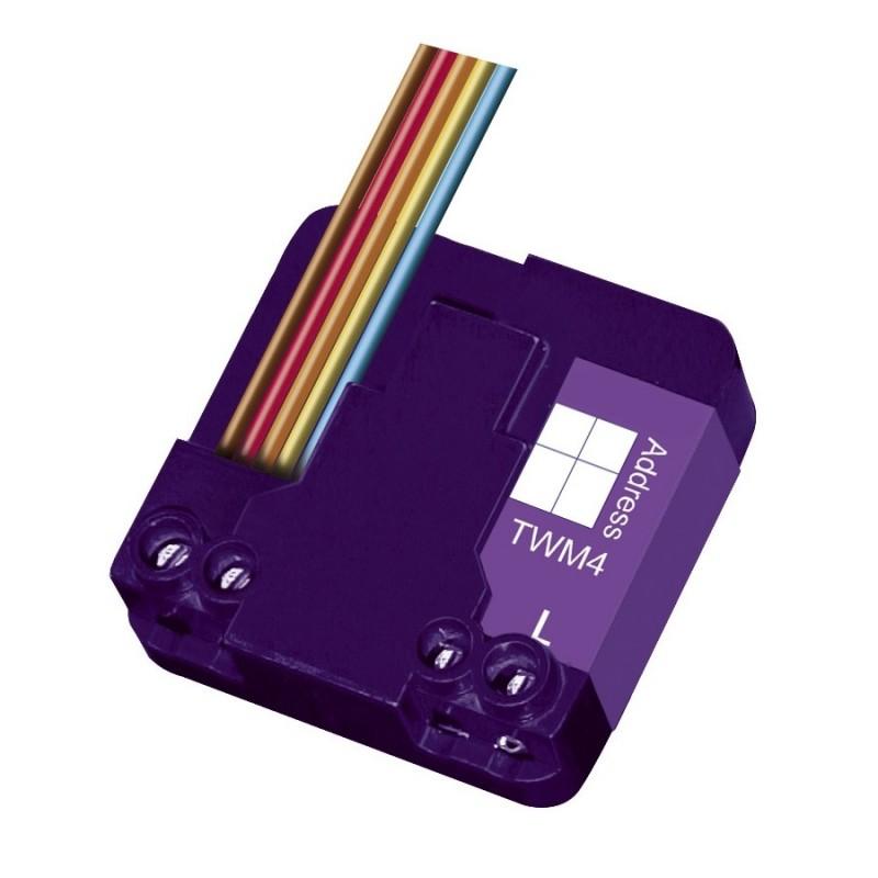 Micromódulo X10 transmisor de 4 direcciones Marmitek. TWM4-IMX10.