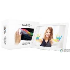 Fibaro Swipe control por gestos color blanco de Fibaro Z-Wave . FGGC-001