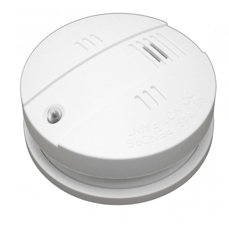 Sensor de humo con sirena de interior POPP Z-Wave Plus