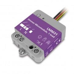 Micromódulo X10 dimmer regulación 1 zona de iluminación para instalación oculta Marmitek. LMM31