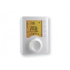 Termostato programable filar de 1 zona con pantalla retroiluminada para calefacción Delta Dore. TYBOX 117
