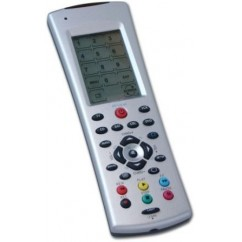 Mando Universal Multimedia táctil compatible con X10 RF+IR. URTSRF