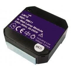 Micromódulo X10 dimmer regulación 1 zona de iluminación para instalación oculta Marmitek. LW12