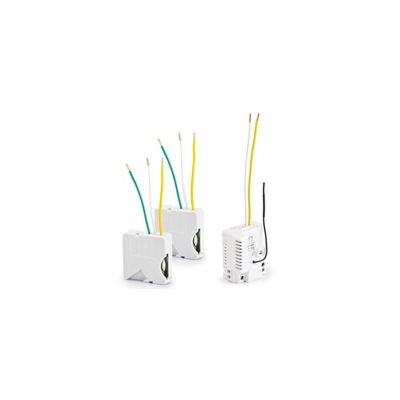 Pack Iluminación Delta Dore- Conmutado inalámbrico - Interruptor sin neutro. Pack TYXIA 510