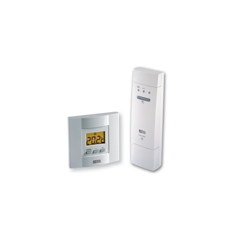 Termostato electrónico inalámbrico para climatización Delta Dore. TYBOX 53
