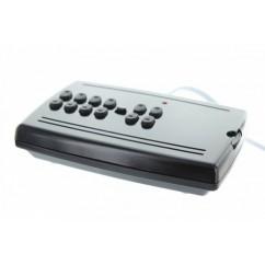 Controlador y receptor de señales X10 de infrarrojos y radiofrecuencia Marmitek. IR-RF7243