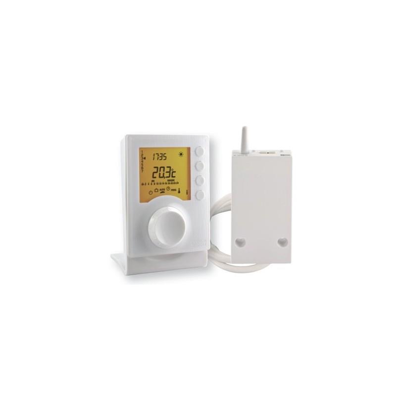 Termostato programable inalámbrico para climatización Delta Dore. TYBOX 437
