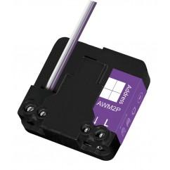 Micromódulo X10 para encender y apagar 1 zona aparato o iluminación bidireccional para instalación oculta. AWM2P-SAIX12