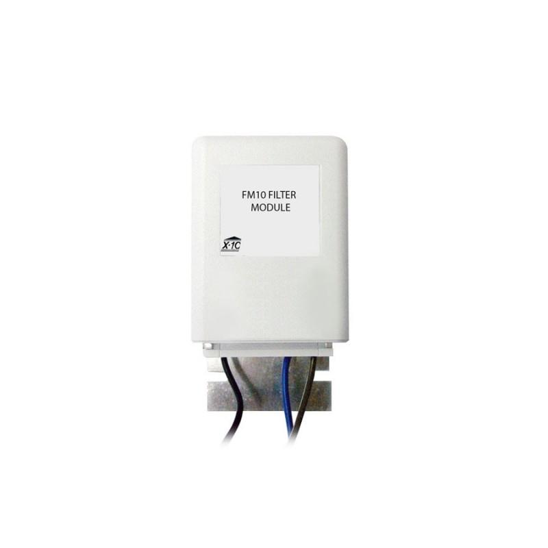 Filtro de señal X10 con cables en puntas libres Marmitek. FM10W