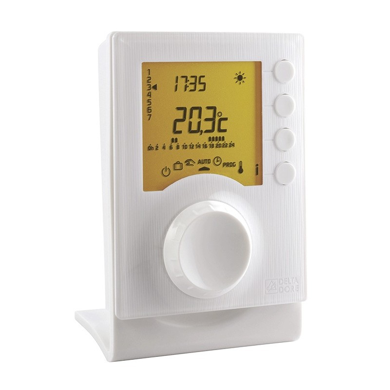Termostato inalámbrico suplementario para calefacción Delta Dore. TYBOX 157