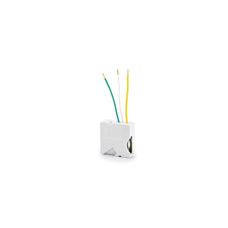 Micromódulo emisor Delta Dore inalámbrico para interruptor mecánico - 1 vía de iluminación o persiana motorizada. TYXIA 2630