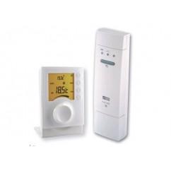 Termostato electrónico inalámbrico para climatización Delta Dore. TYBOX 63