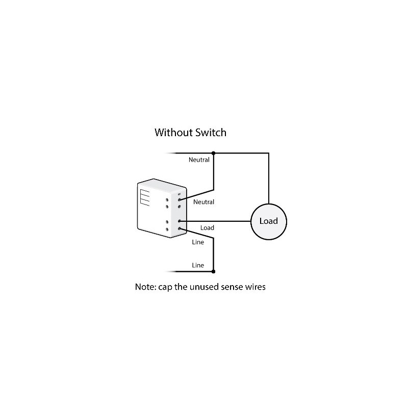 Micromódulo Insteon para encender-apagar 1 zona de iluminación para instalación oculta. Micro Relay