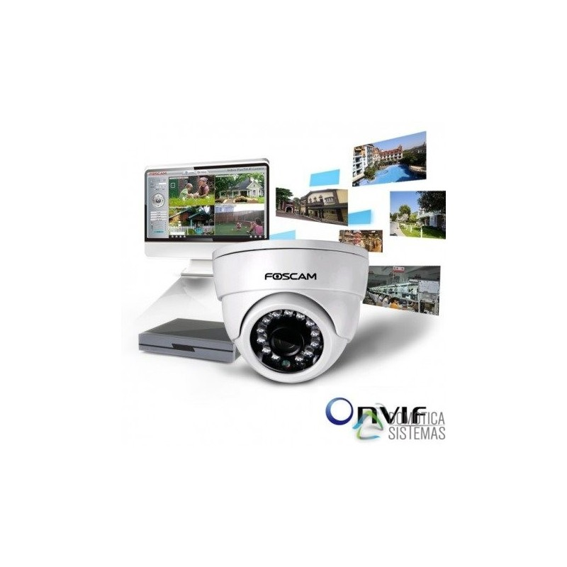 Cámara IP FI9851P WIFI 720p Mini-DOMO Orientable- ONVIF