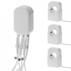 Medidor de consumo eléctrico general Aeotec GEN5 suministrado con tres pinzas, hasta 100 Amperios Z-Wave