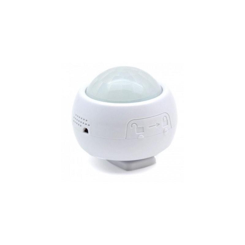 Sensor movimiento exterior, humedad, temperatura, lumens.