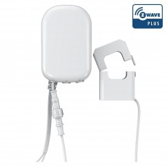 Medidor de consumo eléctrico general Aeotec GEN5 suministrado con una pinza, hasta 100 Amperios Z-Wave