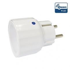 Módulo de enchufe Everspring on-off con medición de consumo Z-Wave Plus.