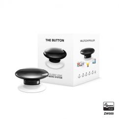 Botón de acción negro de Fibaro Z-Wave Plus