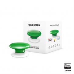 Botón de acción verde de Fibaro Z-Wave Plus