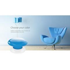 Botón de acción azul
