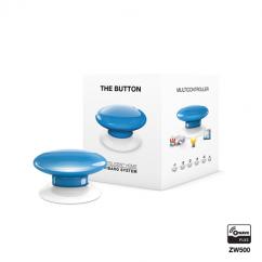 Botón de acción azul de Fibaro Z-Wave Plus