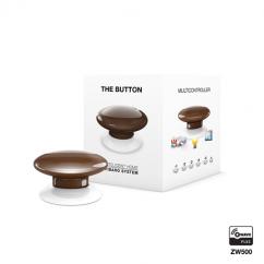 Botón de acción marrón de Fibaro Z-Wave Plus