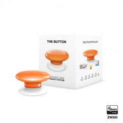 Botón de acción naranja de Fibaro Z-Wave Plus