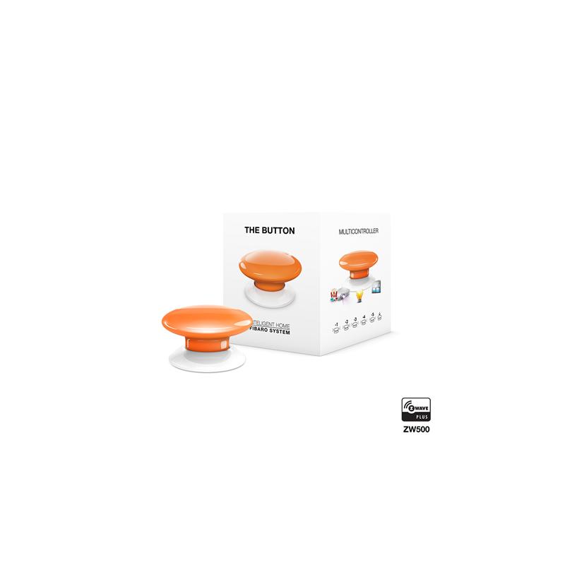 Botón de acción naranja