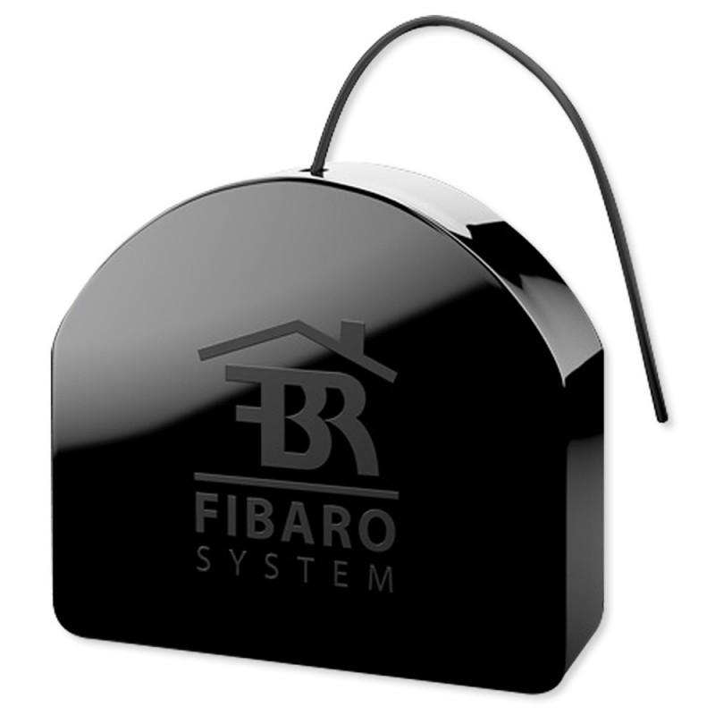 Micromódulo interruptor relé ON/OFF oculto con medición de consumo de Fibaro Z-Wave Plus. FGS-213