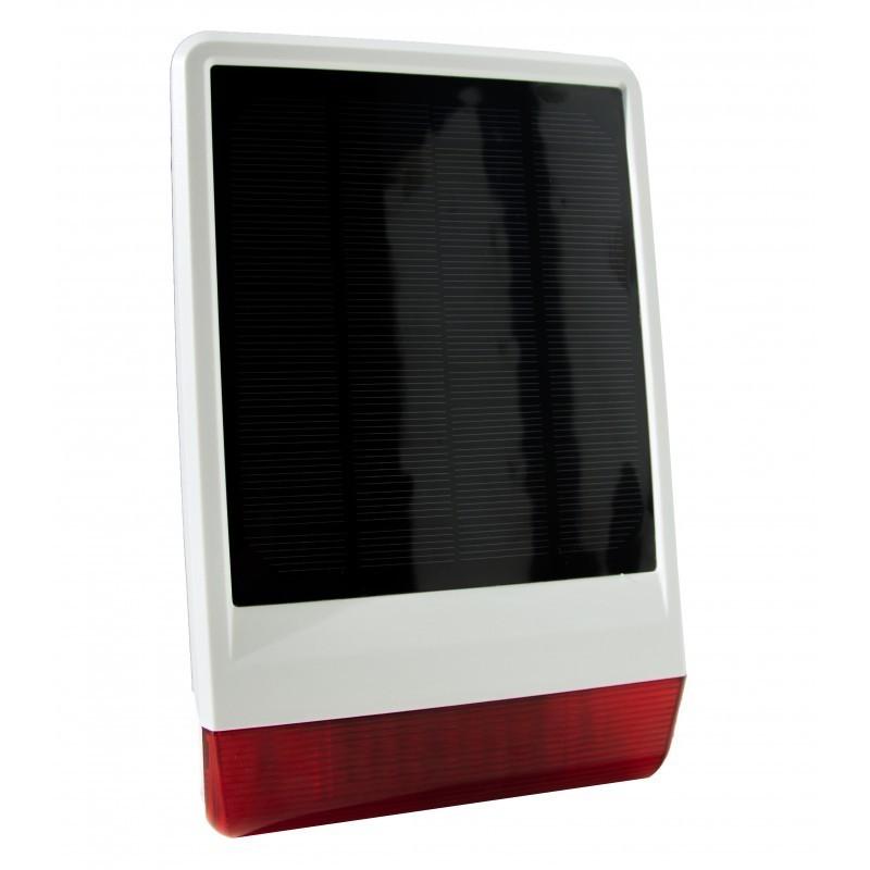 Sirena solar de exterior POPP con protección IP56 Z-Wave Plus