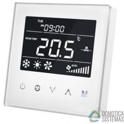 Termostato empotrable para Fan-Coil MCO HOME de aire acondicionado centralizado de dos tuberías Z-wave Plus