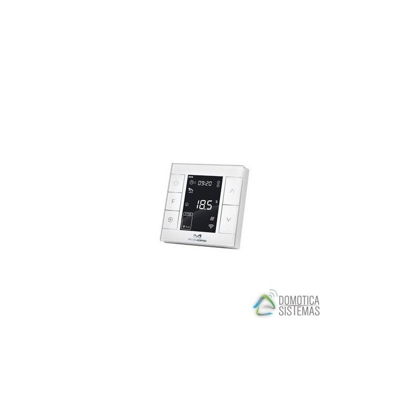 Termostato empotrable MCO HOME que precisa conexión eléctrica Z-Wave Plus