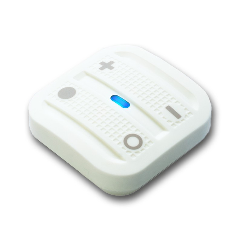 Mando interruptor cuatro botones NODON de superficie color blanco Z-Wave