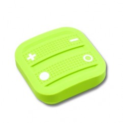 Mando interruptor cuatro botones NODON de superficie color verde Z-Wave Plus