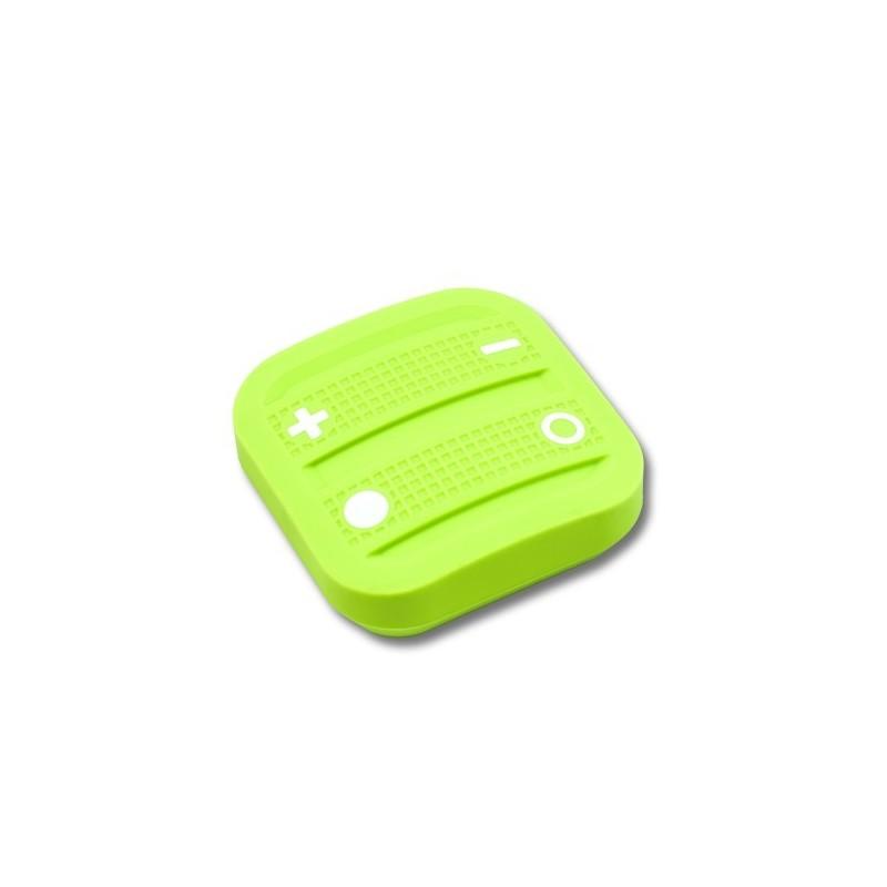 Mando interruptor cuatro botones NODON de superficie color verde Z-Wave Plus