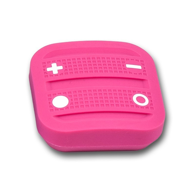 Mando interruptor cuatro botones NODON de superficie color rosa Z-Wave