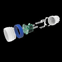 Módulo de enchufe NODON con control de gasto energético Z-wave