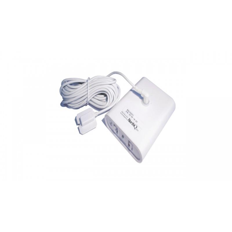 Medidor de consumo energético central NorthQ, para contadores digitales y analógicos Z-Wave